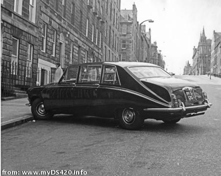RoyalMile Edinburgh 1971/1972