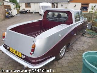 hearse to pickup UK
