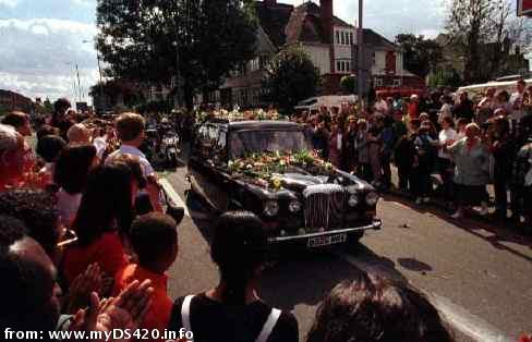 princess diana funeral queen. 2011 princess diana funeral