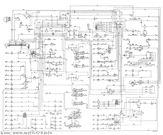 daimler ds420 wiring diagrams
