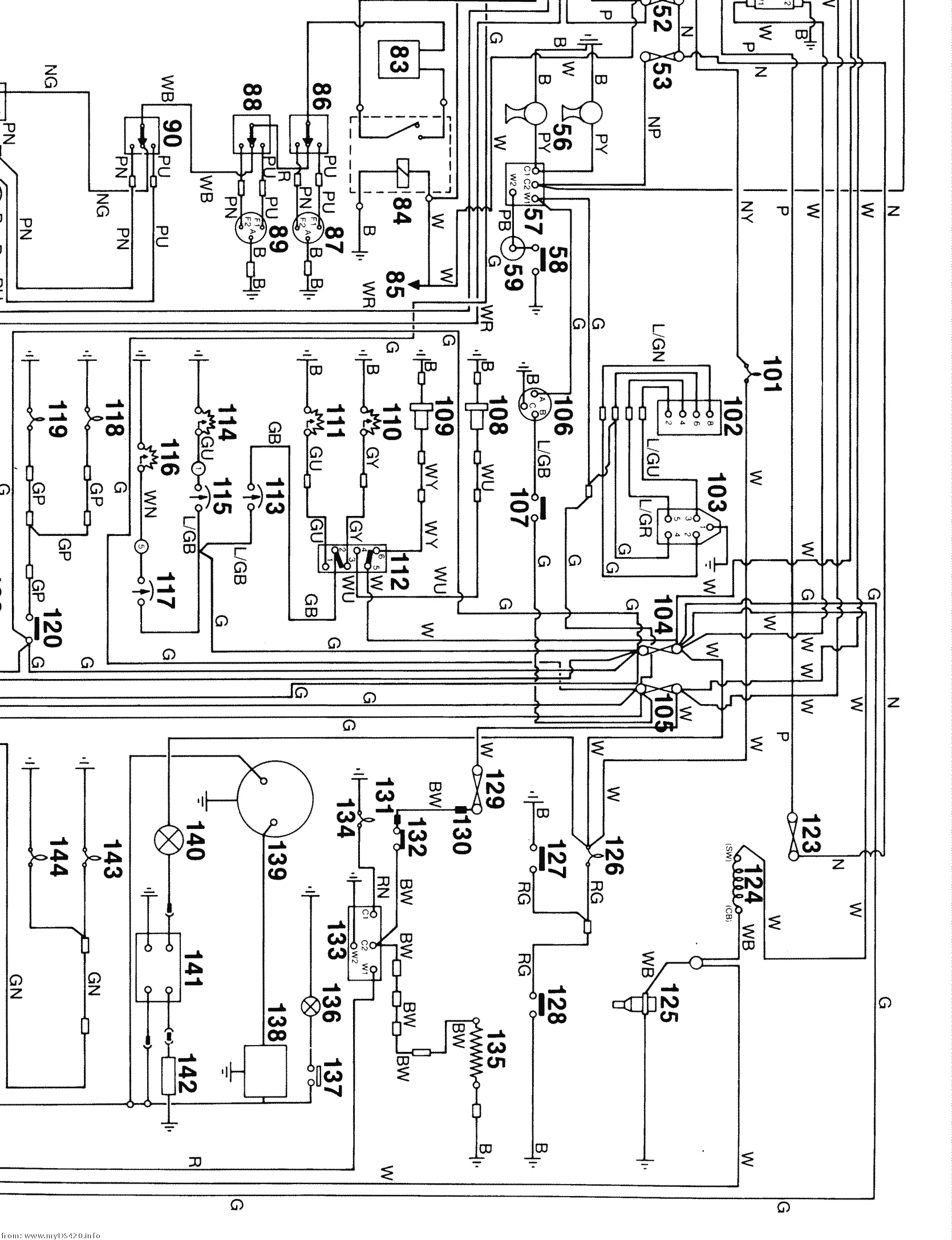 yfz 450 engine diagram